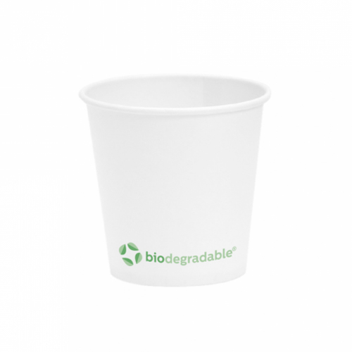 Gobelets à café biodégradable 120ml
