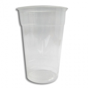 Gobelet PLA transparent 500ml